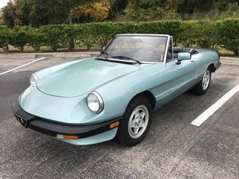 1983 Alfa Romeo Spider for sale in Cadillac, MI