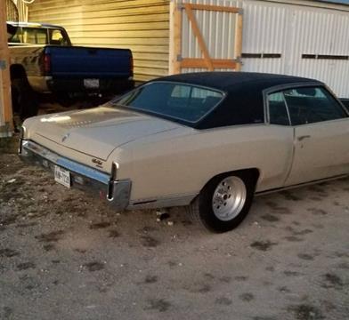 1971 Chevrolet Monte Carlo for sale in Cadillac, MI