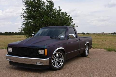 1988 Chevrolet S 10 For Sale In Cadillac MI