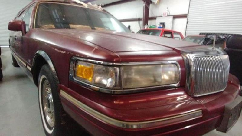1996 Lincoln Town Car Hearse In Cadillac Mi Classic Car Deals