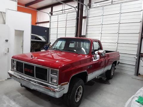 1987 GMC Sierra 1500HD Classic for sale in Cadillac, MI