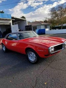 1968 Pontiac Firebird for sale in Cadillac, MI