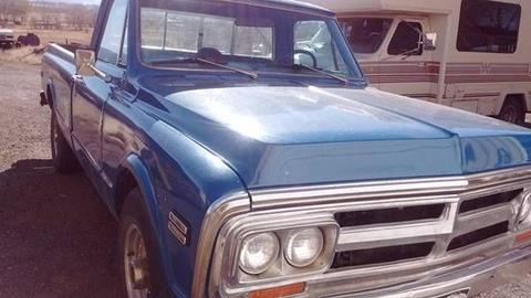 1971 GMC Sierra 2500 for sale in Cadillac, MI
