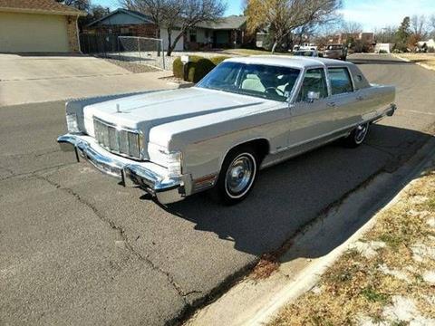 1976 Lincoln Continental For Sale Carsforsale Com