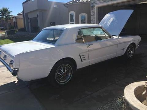 Old Mustangs For Sale >> 1966 Ford Mustang For Sale In Cadillac Mi