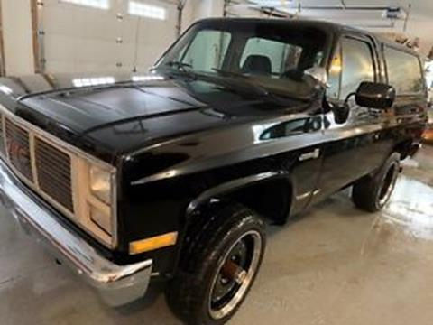 1988 GMC Jimmy for sale in Cadillac, MI