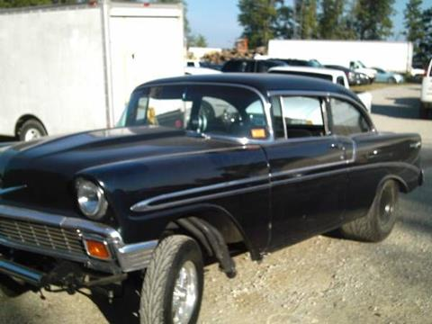 1956 Chevrolet Bel Air For Sale In Cadillac Mi