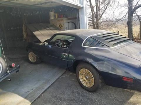 1978 Pontiac Firebird for sale in Cadillac, MI