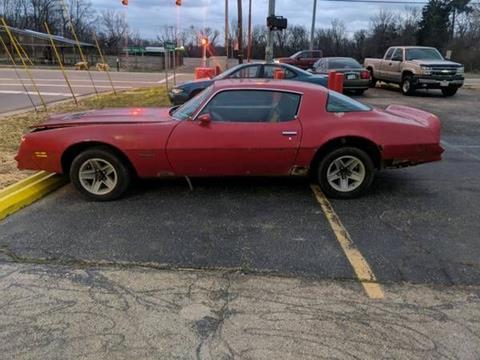 1977 Pontiac Firebird for sale in Cadillac, MI