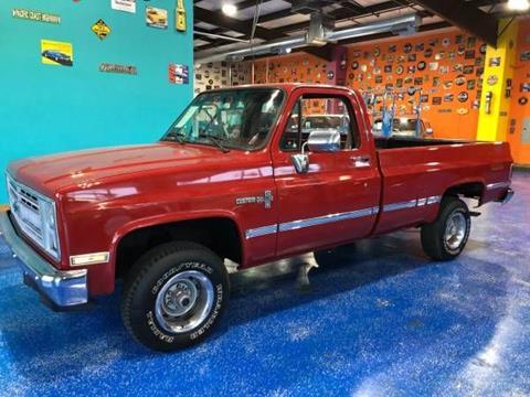 1986 Chevrolet Silverado 1500 for sale in Cadillac, MI