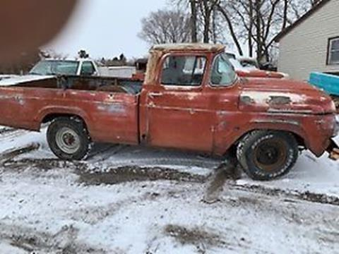 1958 Ford F-250 for sale in Cadillac, MI