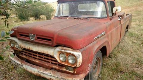 1960 Ford F-100 for sale in Cadillac, MI
