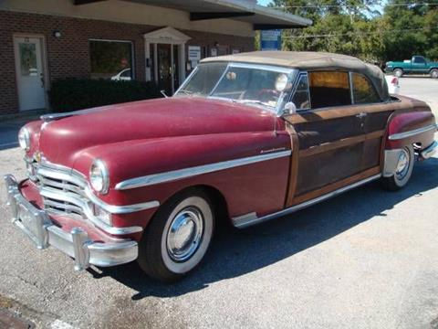 1949 Chrysler Town and Country for sale in Cadillac, MI