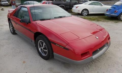 1985 Pontiac Fiero for sale in Cadillac, MI