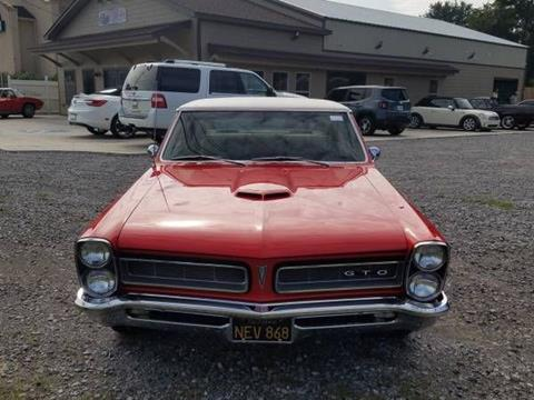 1965 Pontiac GTO for sale in Cadillac, MI