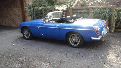 1967 MG MGB for sale in Cadillac, MI