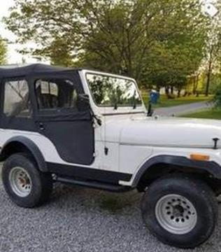 1977 Jeep CJ-5 for sale in Cadillac, MI