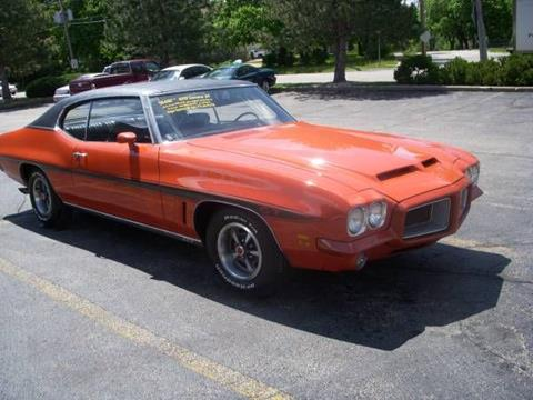 1972 Pontiac Le Mans for sale in Cadillac, MI