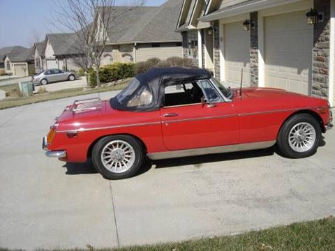 1972 MG MGB for sale in Cadillac, MI
