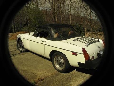 1977 MG MGB for sale in Cadillac, MI
