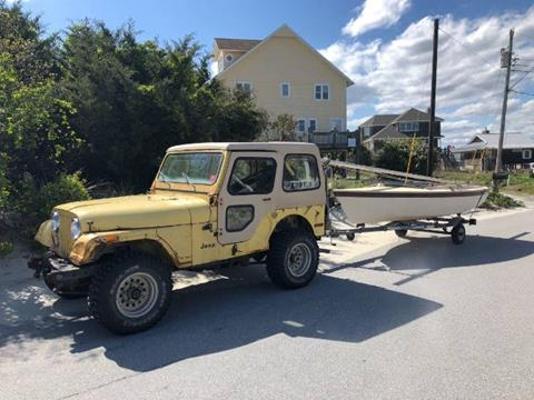 1976 Jeep CJ-5 for sale in Cadillac, MI