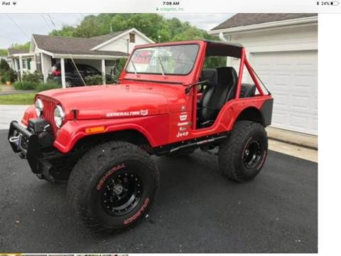 1978 Jeep CJ-5 for sale in Cadillac, MI
