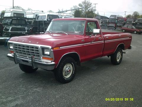 1978 Ford F-150 for sale in Cadillac, MI