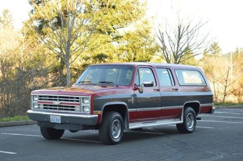 1985 Chevrolet Suburban for sale in Cadillac, MI