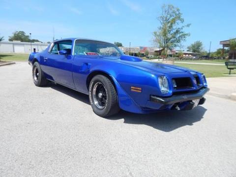 1975 Pontiac Firebird for sale in Cadillac, MI
