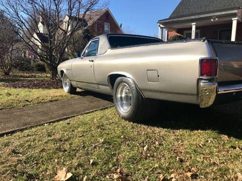 1970 Chevrolet El Camino for sale in Cadillac, MI