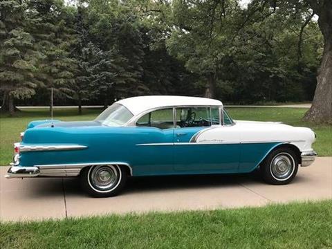 1956 Pontiac Star Chief for sale in Cadillac, MI