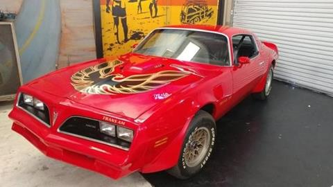 1977 Pontiac Trans Am for sale in Cadillac, MI