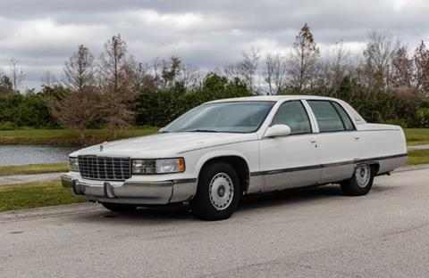 1995 Cadillac Fleetwood for sale in Cadillac, MI