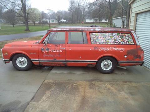 1972 Chevrolet Suburban for sale in Cadillac, MI