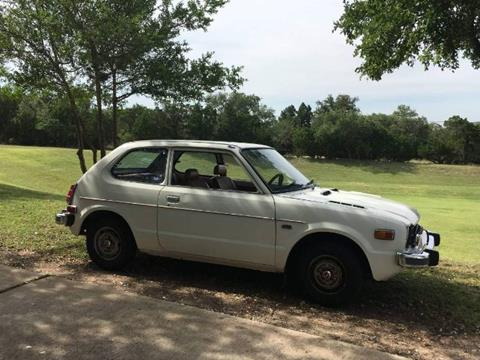 1977 Honda Civic for sale in Cadillac, MI