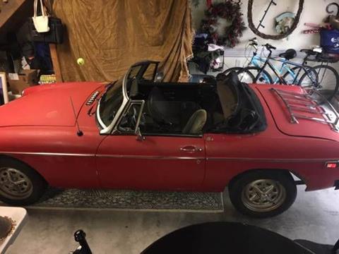 1975 MG MGB for sale in Cadillac, MI