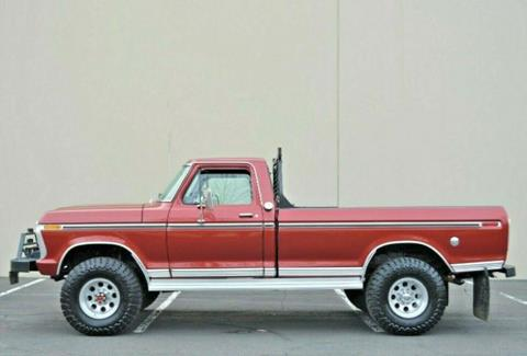 1975 Ford F-250 for sale in Cadillac, MI