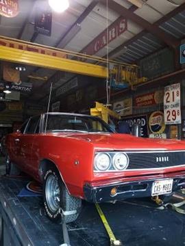 1968 Dodge Super Bee for sale in Cadillac, MI