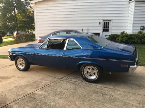 1970 Chevrolet Nova for sale in Cadillac, MI