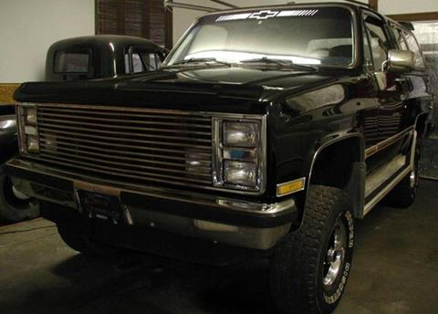 1986 GMC Jimmy for sale in Cadillac, MI