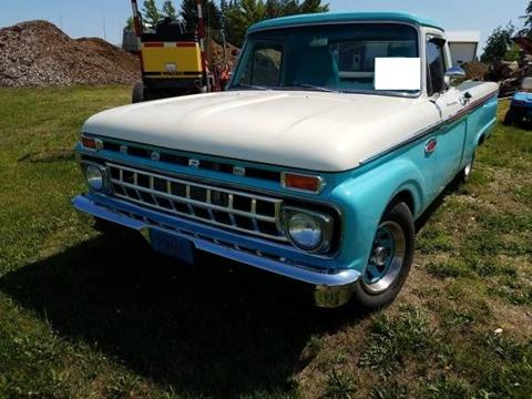 1965 Ford F-100 for sale in Cadillac, MI