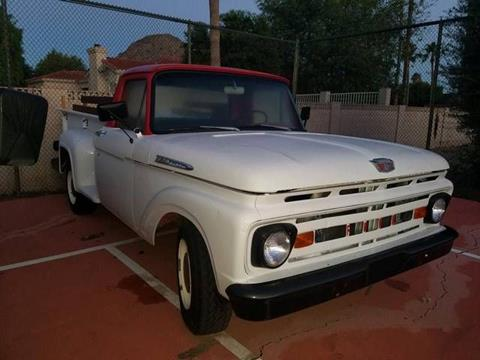 1961 Ford F-250 for sale in Cadillac, MI