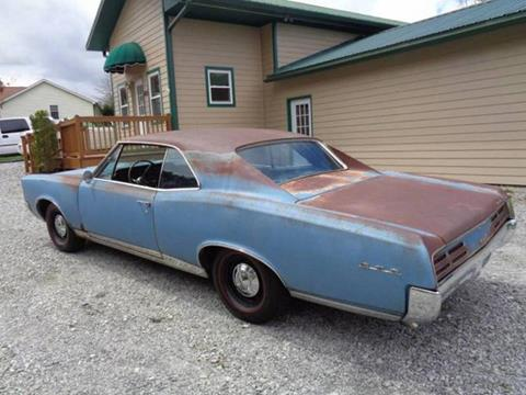 1967 Pontiac GTO for sale in Cadillac, MI
