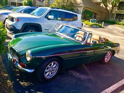 1968 MG MGB for sale in Cadillac, MI