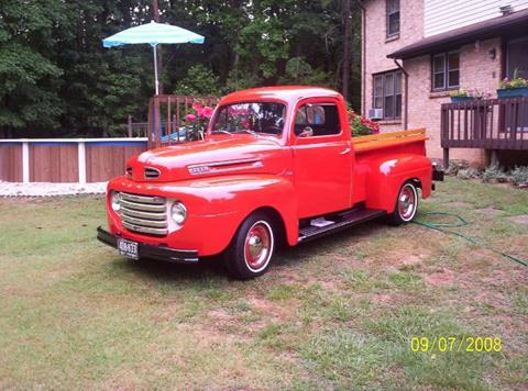 1950 Ford F-100 for sale in Cadillac, MI