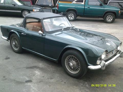 Used Triumph Tr4 For Sale In Ontario Or Carsforsalecom
