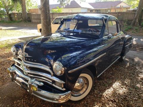1950 Plymouth Business Coupe for sale in Cadillac, MI