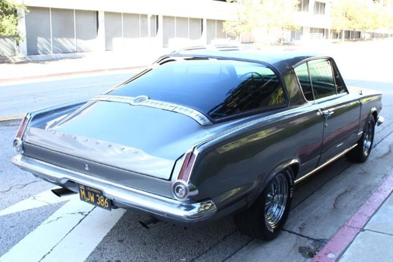 1965 Plymouth Barracuda In Cadillac MI - Classic Car Deals