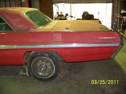 1962 Pontiac Bonneville for sale in Cadillac, MI