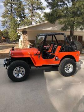 Willys Jeep For Sale >> 1952 Willys Jeep For Sale In Cadillac Mi